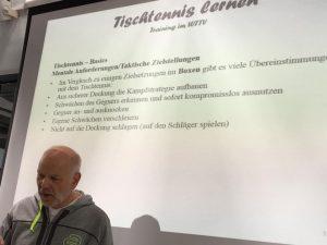 Dirk Huber vergelijkt tafeltennis met boksen