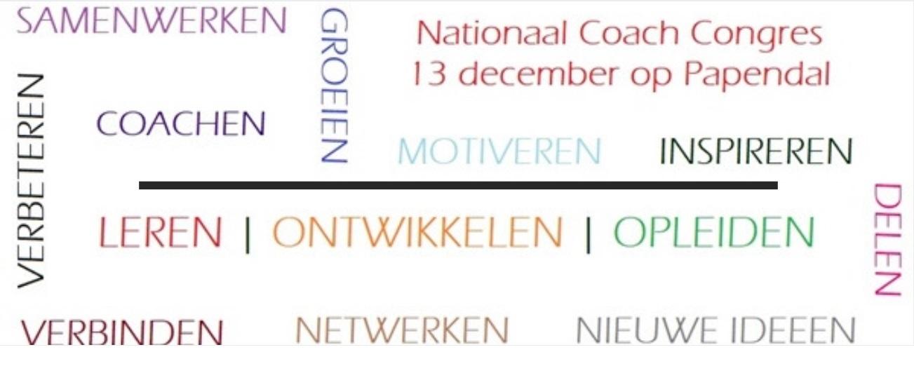 Nationaal coach congres vrijdag 13 december
